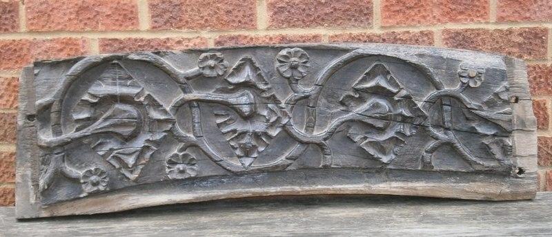 gothic door lintel 1