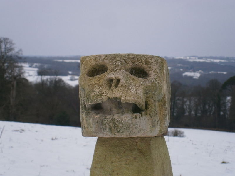 stone skull 1