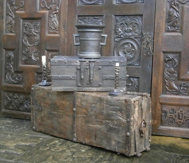 iron bound church chest 1