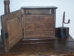 17th Century Oak Spice Cupboard.
