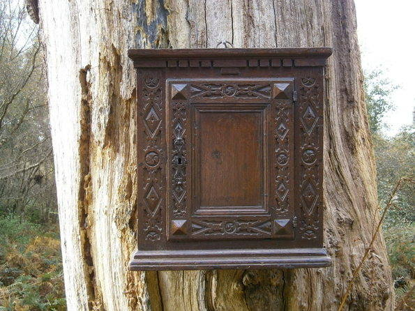 17th century hanging cupboard 1