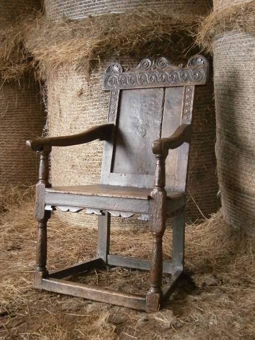 Jacobean dry chair