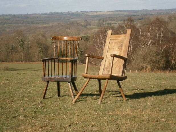Scottish primitive chair 1755 6