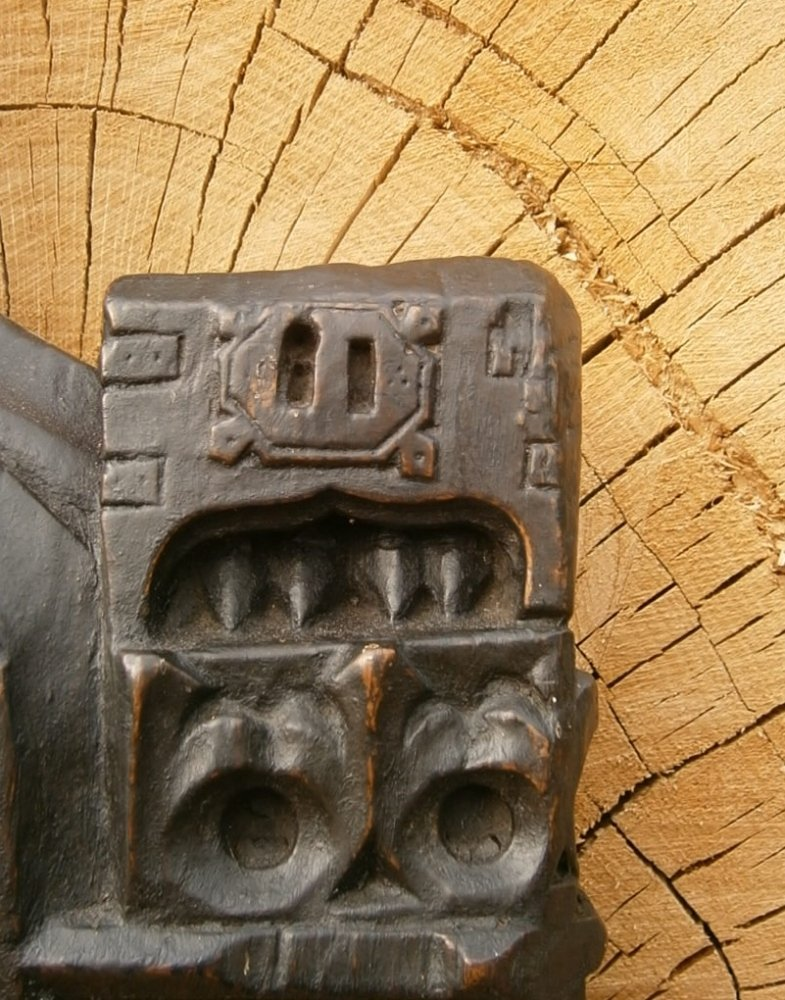 15th Century English Medieval Carved Oak Pew End From Norfolk