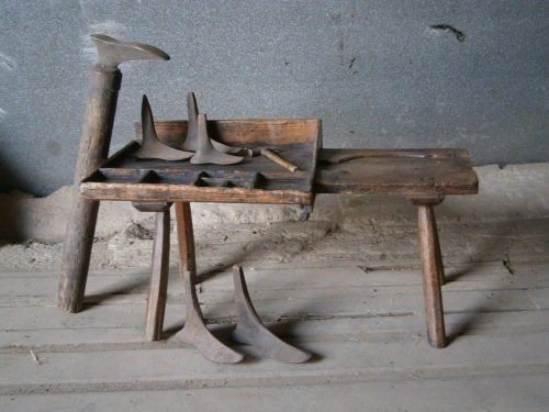 A 19TH Century Folk Cobblers Bench.