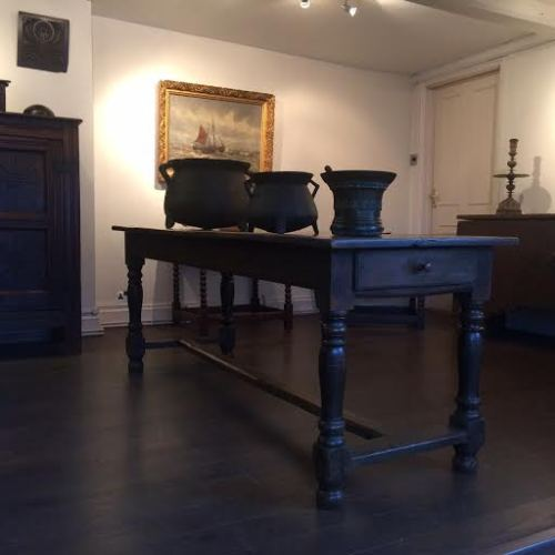 Late 18th Century French Oak Farmhouse Table
