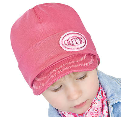 'CUTE'  Pink Hat for 2-3 year old girl