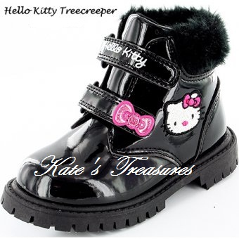 Hello Kitty Treecreeper Boots SIZE 8 toddler