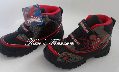 SPIDER-MAN BULGE BOOTS size 1