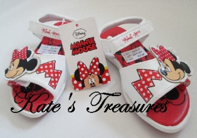 MINNIE MOUSE PARTY - Sandals for Girls - size 8