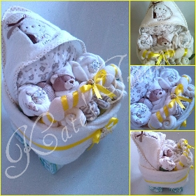 unisex nappy pram for new baby