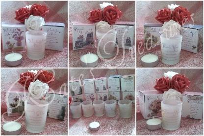 votive candles text