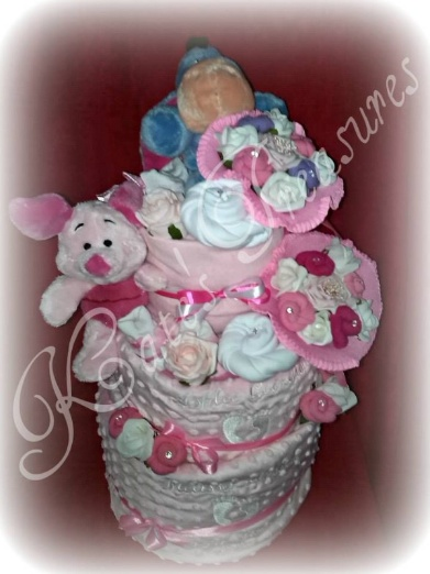Twin Nappy Cake