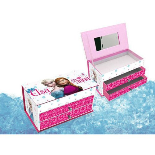 Disney Frozen Jewellery Box with drawers.