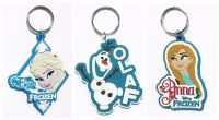 Disney Frozen Rubber Keychain