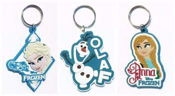 Disney Frozen Rubber Keychain