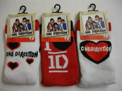I love One Direction Socks for Girls in size 12.5 - 5.5