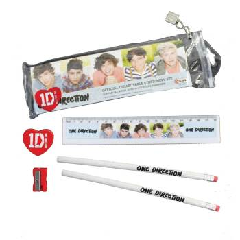 1D 5 piece official collectable stationery set