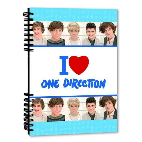 A5 One Direction Notebook
