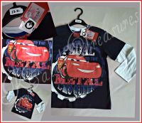 Disney CARS long sleeved top for Boys age 3 to 8 years