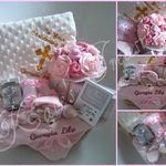 christening gift basket personalised