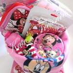 hamper for girl with minnie mouse toys