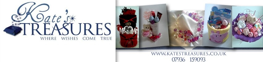 Kate's Treasures, site logo.