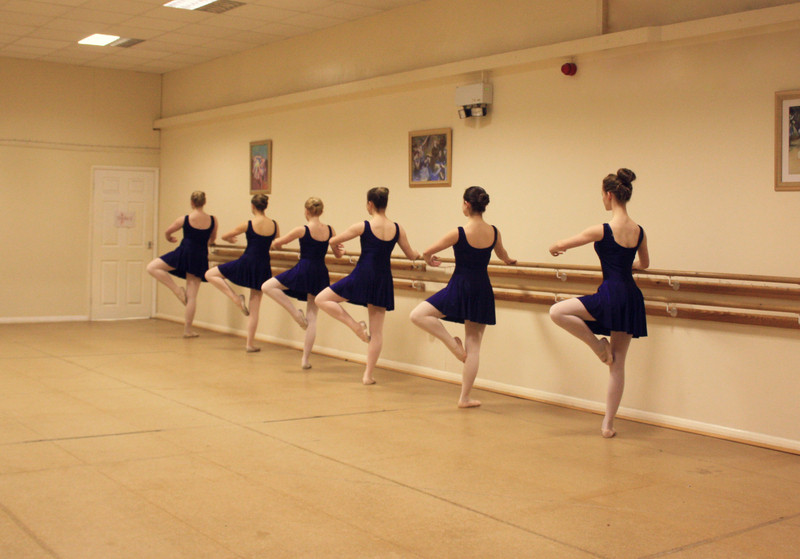 Ballet at Degas Studios