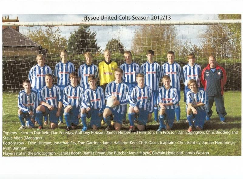 Tysoe Colts 2012-2013