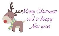 Cute Reindeer 2  design 266