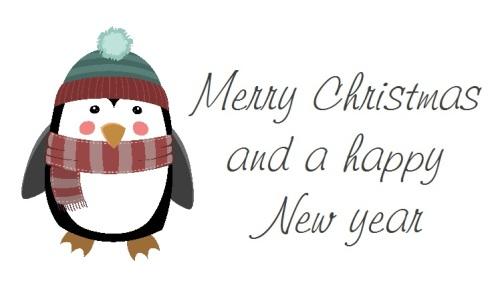 Christmas Penquin design 267