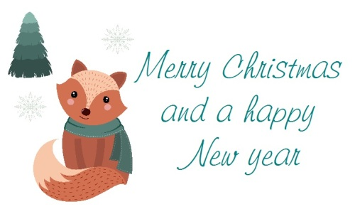 Christmas Fox design 273