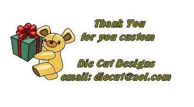 Teddy Present  Design No. 77