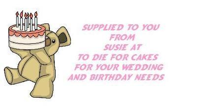 Teddy Bear Cake Design No. 90