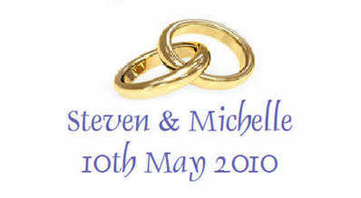 130 Gold Wedding Ring Favours