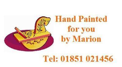 Painted Rocking Horse Design No. 126