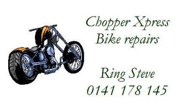 Chopper Bike Design No. 154