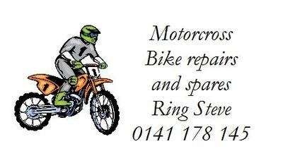 Motorcross Bike Design No. 155