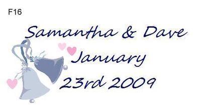 Blue wedding Bells F16