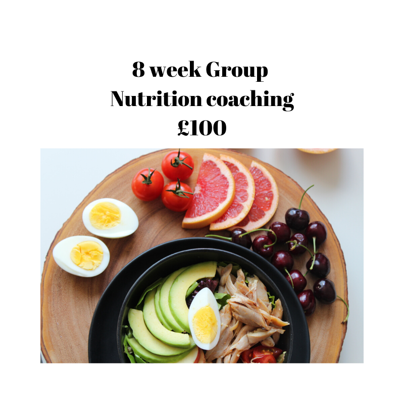 8 week group coaching
