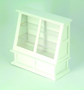 Shop Display Cabinet, White
