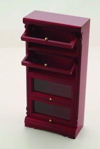 Haberdashery Cabinet, Mahogany