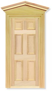 Exterior Door, including 2 Frames
