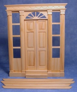 Large Frame Door with Side Windows