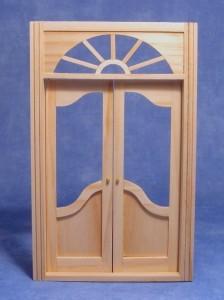 Double Shop Door