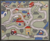 Childrens' Car Play Mat