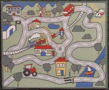 Childrens' Car Play Mat