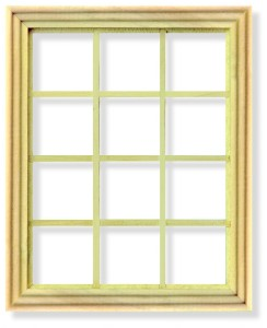 Georgian 12 Pane Window