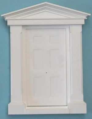 Plastic Large Geogian Door