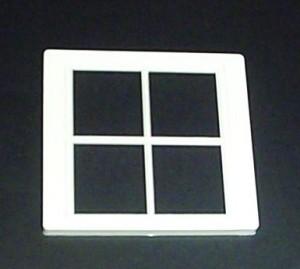 Plastic Victorian 4 Pane Dorma Window